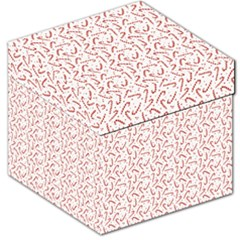 Candy Cane Storage Stool 12   by patternstudio