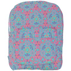 Bereket Pink Blue Full Print Backpack