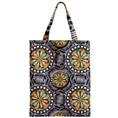 Beveled Geometric Pattern Classic Tote Bag by linceazul