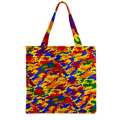Homouflage Gay Stealth Camouflage Grocery Tote Bag by PodArtist