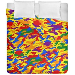 Homouflage Gay Stealth Camouflage Duvet Cover Double Side (california King Size) by PodArtist