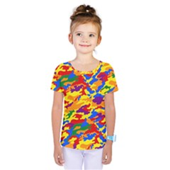 Homouflage Gay Stealth Camouflage Kids  One Piece Tee by PodArtist