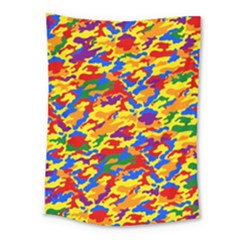 Homouflage Gay Stealth Camouflage Medium Tapestry by PodArtist