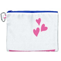 Jesus Loves Me [converted] Canvas Cosmetic Bag (xxl) by clothcarts