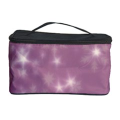 Blurry Stars Lilac Cosmetic Storage Case by MoreColorsinLife