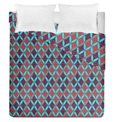 Rhomboids Pattern 2 Duvet Cover Double Side (queen Size)