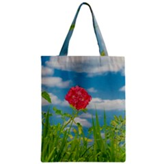 Beauty Nature Scene Photo Zipper Classic Tote Bag by dflcprints