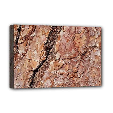 Tree Bark C Deluxe Canvas 18  X 12   by MoreColorsinLife