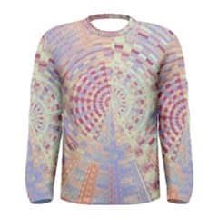 Gateway To Thelight Pattern  Men s Long Sleeve Tee