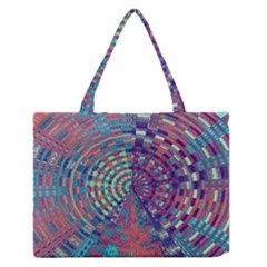 Gateway To Thelight Pattern 4 Zipper Medium Tote Bag by Cveti