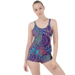 Gateway To Thelight Pattern 4 Boyleg Tankini Set