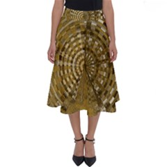 Gatway To Thelight Pattern 4 Perfect Length Midi Skirt by Cveti
