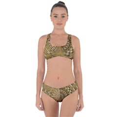 Gatway To Thelight Pattern 4 Criss Cross Bikini Set