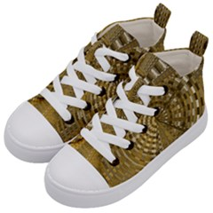 Gatway To Thelight Pattern 4 Kid s Mid Top Canvas Sneakers by Cveti