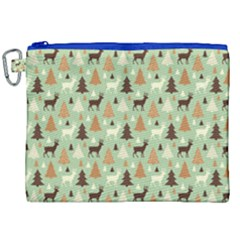Reindeer Tree Forest Art Canvas Cosmetic Bag (xxl) by patternstudio