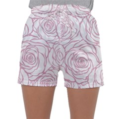 Pink Peonies Sleepwear Shorts by 8fugoso