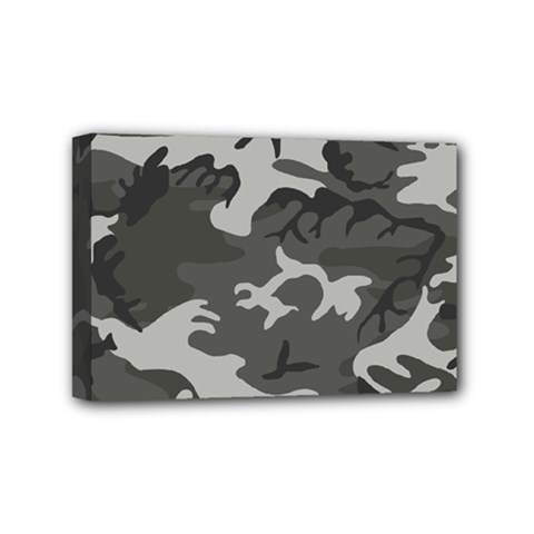 Camouflage Pattern Disguise Army Mini Canvas 6  X 4
