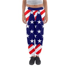 Patriotic Usa Stars Stripes Red Women s Jogger Sweatpants