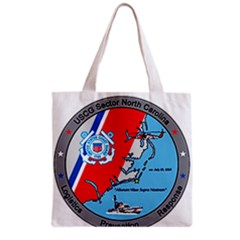 Coast Guard Sector North Carolina  Grocery Tote Bag by allthingseveryday