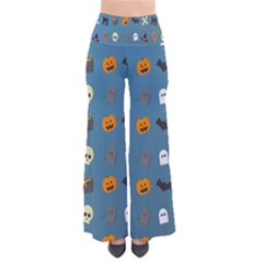 Halloween Cats Pumpkin Pattern Bat Pants