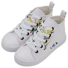 F686a000 1c25 4122 A8cc 10e79c529a1a Kid s Mid Top Canvas Sneakers by MERCH90