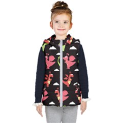 Cute Flying Dragons Kid s Puffer Vest