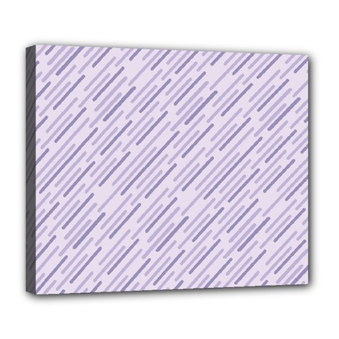 Halloween Lilac Paper Pattern Deluxe Canvas 24  X 20