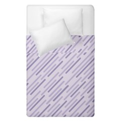 Halloween Lilac Paper Pattern Duvet Cover Double Side (single Size) by Celenk