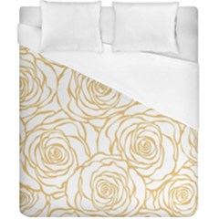 Yellow Peonies Duvet Cover (california King Size) by 8fugoso