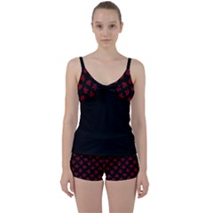 Cool Canada Tie Front Two Piece Tankini