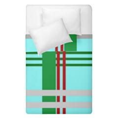 Christmas Plaid Backgrounds Plaid Duvet Cover Double Side (single Size) by Celenk