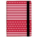 American Flag Patriot Red White iPad Air Flip View2
