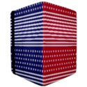 American Flag Patriot Red White iPad Air Flip View3