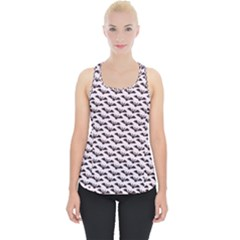 Halloween Lilac Paper Pattern Piece Up Tank Top