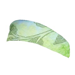 Green Leaves Background Scrapbook Stretchable Headband