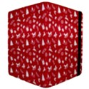 Red Christmas Pattern Apple iPad Mini Flip Case View4