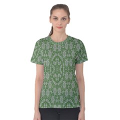 Art Pattern Design Holiday Color Women s Cotton Tee