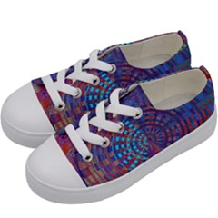 Gateway To The Light 5 Kids  Low Top Canvas Sneakers by Cveti