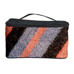 Fabric Textile Texture Surface Cosmetic Storage Case by Celenk