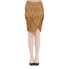 Wood Background Backdrop Plank Midi Wrap Pencil Skirt