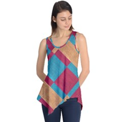 Fabric Textile Cloth Material Sleeveless Tunic