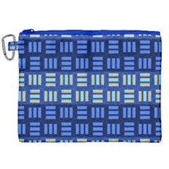 Textiles Texture Structure Grid Canvas Cosmetic Bag (xxl)