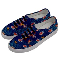 Fish Swim In The Ocean Men s Classic Low Top Sneakers by Cveti