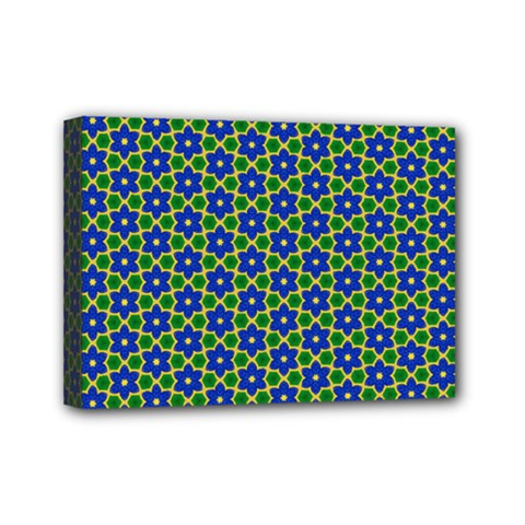Texture Background Pattern Mini Canvas 7  X 5