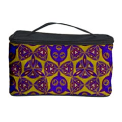 Sacred Geometry Hand Drawing 2 Cosmetic Storage Case by Cveti