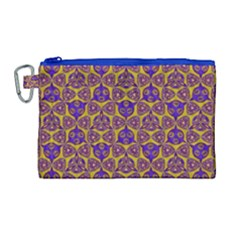 Sacred Geometry Hand Drawing 2 Canvas Cosmetic Bag (large) by Cveti
