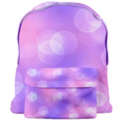 Soft Lights Bokeh 1 Giant Full Print Backpack by MoreColorsinLife