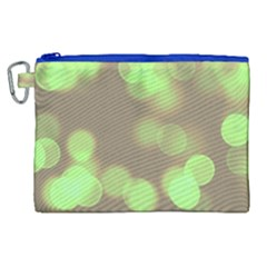 Soft Lights Bokeh 4c Canvas Cosmetic Bag (xl) by MoreColorsinLife