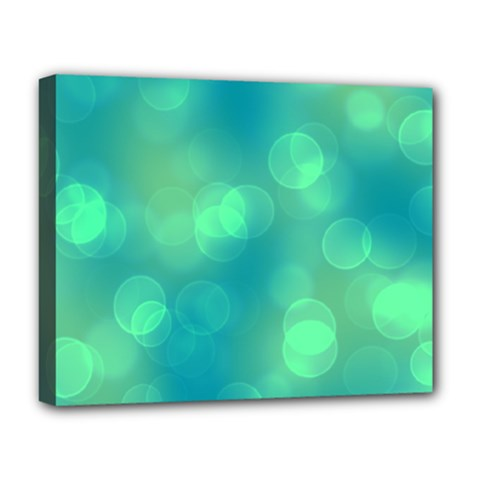 Soft Lights Bokeh 1b Deluxe Canvas 20  X 16   by MoreColorsinLife