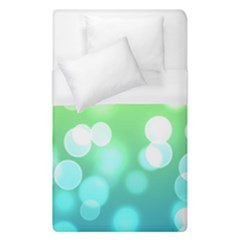 Soft Lights Bokeh 2 Duvet Cover (single Size) by MoreColorsinLife